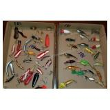 Group of 50+ Rattle Baits, Spoons and More