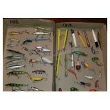 Group of 47 Fishing Lure Assortment