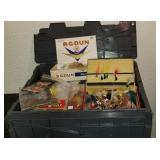 Mega Tote of Fishing Lures and Accessories