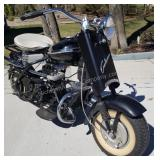 1958 Cushman Eagle Motor Scooter