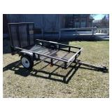 Cargo Trailer with Drop Gate. Like New!