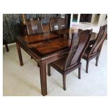 Bernhardt Chinese Carved Dining Room Table