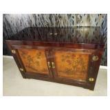 Bernhardt Chinese Carved Sideboard, Server
