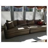 Top-of-the-Line Bernhardt 2-Sectional Sofa