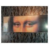 The Mona Lisa Panoramic Framed Print