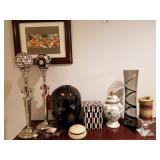 Decorative Ornaments, Vases, Crystal Candle etc