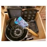 Group Lot of Pots, Pans and Cutting Boards