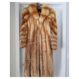 Red Fox Ladies Fur Coat