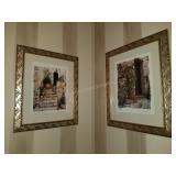 Pair of Maureen Love Framed Art Prints