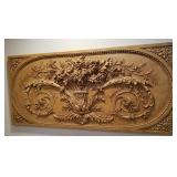 Stunning Large Molded Flower Wall Accent