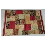 Silk Wall Tapestry and/or Rug w/100% Cotton Back