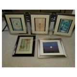 "Group of 5 11x14""  and other sizes Picture Frames"