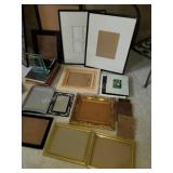"Group Lot of 5x7"" - 16x20"" Art and Picture Frames"