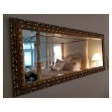 Spectacular Beveled Glass Wall Mirror