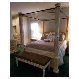 Incredible Bernhardt Queen Size  Poster Bed