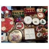 Enormous Collection of Christmas Dishes & Glasses