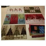 Large Group of Christmas & Holiday Floor Mats