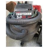 Craftsman 5.0 HP Shop Vac