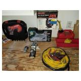 Group of Power Equipment, Reese Hitch, Ryobi Set