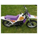 Yamaha 80 Motorcycle