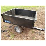 Pull Behind Yard Utility Cart