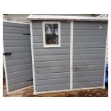 Selling this portable shed