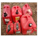 Selection of Fuel Cans