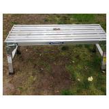 Werner Aluminum Step Platform