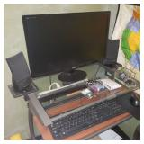 Complete Computer System with Desk