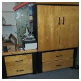 Bedroom Dresser and Cabinet
