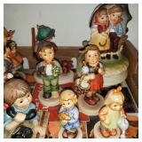 Goebel Hummel & Pewter Nativity Figurines