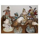 Selection of Porcelain Figurines