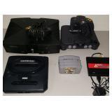 Atari, Nintendo, Xbox, Sega Genesis Gaming Systems
