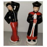 Vintage Morirama Asian Figurines