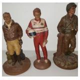 Tom Clark Signed Sculptures