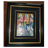 Zamy Steynovitz Limited Edition Framed Art