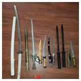Edged Weapons: Swords, Daggers, Knives