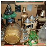 Group Lot of Barware and Decorative