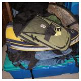 Collection of Backpacks and More