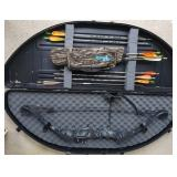 Archery: Compound Bow, Arrows and Case