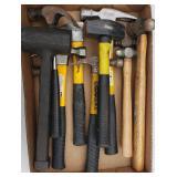 Box Lot: Hammers