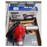 Box Lot: Heat Gun, Air Brad Nailer