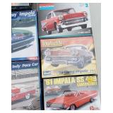 Selection of AMT, Revell Model Kits