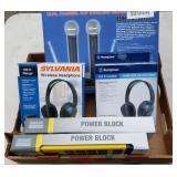 Box Lot: Music Accessories New in Box