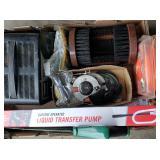 Box Lot: Transfer Pump and More