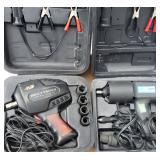 Box Lot: Power Tools with Impact Wrench