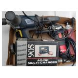 Box Lot: Power Tools with Grinder