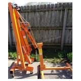 2 Ton Hydraulic Shop Crane & Engine Stand