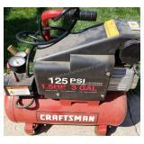 Craftsman 125 PSI 3 Gallon Air Compressor