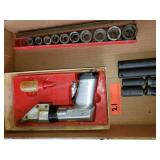 Snap On Tools Power Shears and Sockets